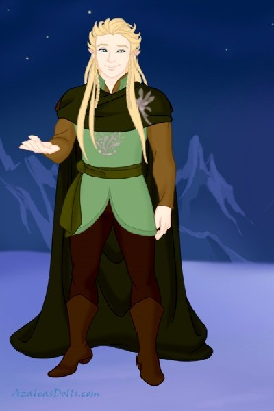 Commander Aedrian ~ One of the four commanders of the Sylnin