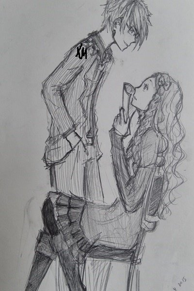 Are You Pleased With Your Grade, Miss Hi ~ My friend drew this picture after hearin