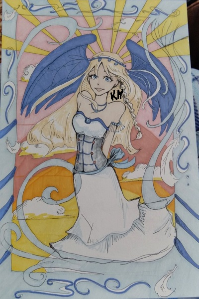 Dreamless - The Goddess Arethnae (I DID  ~ My friend insisted on making a picture o