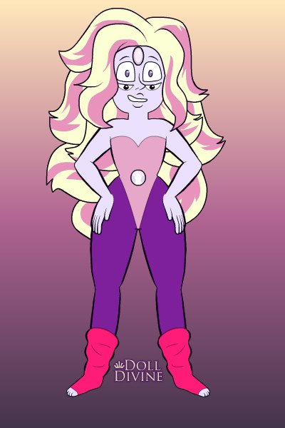 Rainbow Quartz ~ totally gave up on making her over shirt