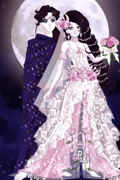 Mi\'ilira on her wedding day ~ Another Tales of Tanjia doll I haven't p