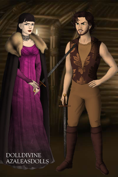 Daniel and Arya ~ Oh goodness these two were awful. Daniel