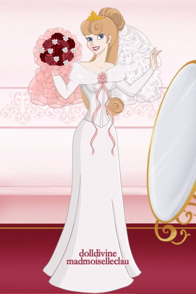 Princess Aurora\'s Wedding Gown ~ A bridal gown for my favorite princess!