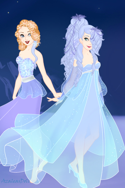 \Our friendship can only become stronger ~ Lalune and Isolde. I think these dresses