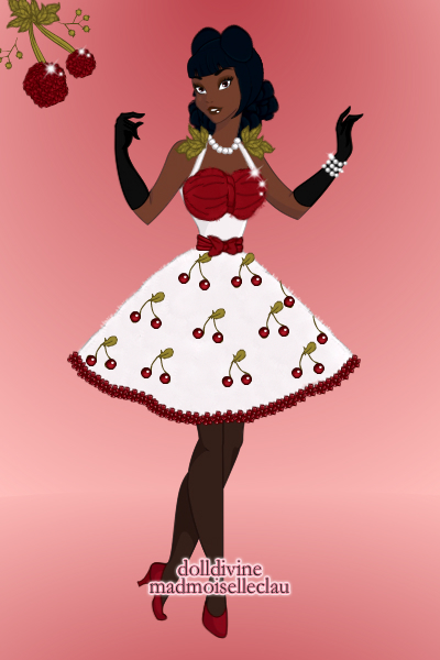 DDNTM 2nd Cycle: Morgana Fatale- Cherrie ~ This week, for the Delicious! round, I d