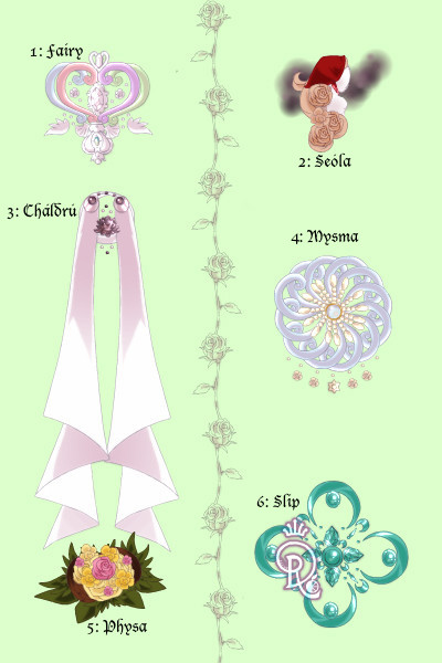 Magical Race Adoptable Sheet ~ This has been a long time in the making!