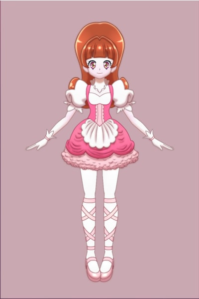 Cure Lace/キュアレース ~ Me as a Cure, even though I completely f