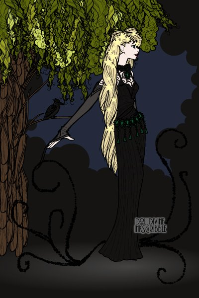 The Midnight Hour ~ I revisited Erté, and Sorrel seemed l