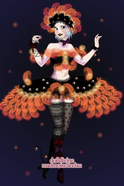 Elly Smith - Big Top! (DDNTM2 Week 9) ~ This is the result of me combining fire