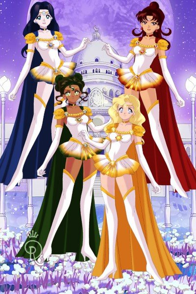 First Generation Senshi ~ I'm kind of embarrassed about how long t