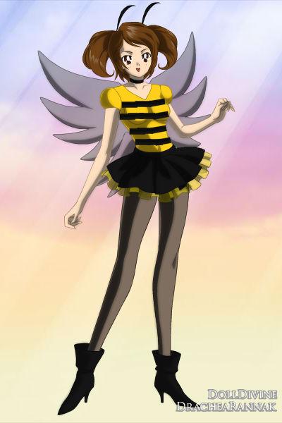 Bee Girl By Purplevampire