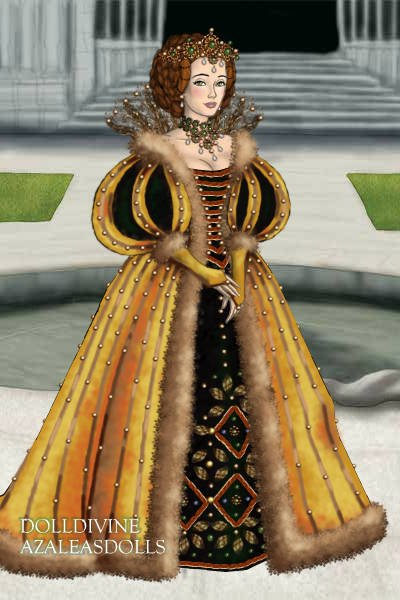 New Queen of the Land for TudorQueen ~ Had a queenly design in mind and didn't