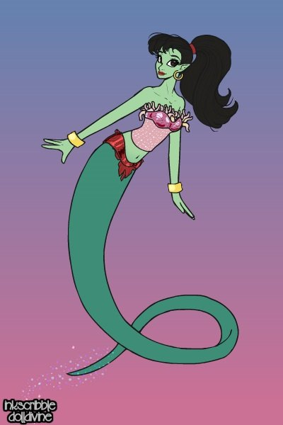 Eden ~ Genie's Girlfriend from the Aladdin TV s