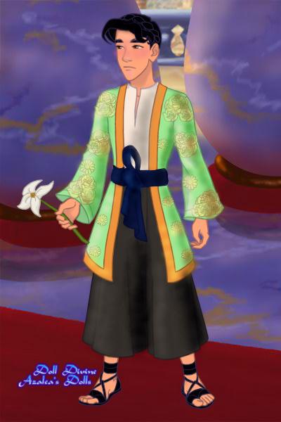 Prince Ha-Yun ~ This is Prince Ha-Yun, son of Queen Mi-S