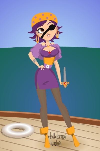Pirate!Linkin ~ My TF:A character, humanized, genderbent