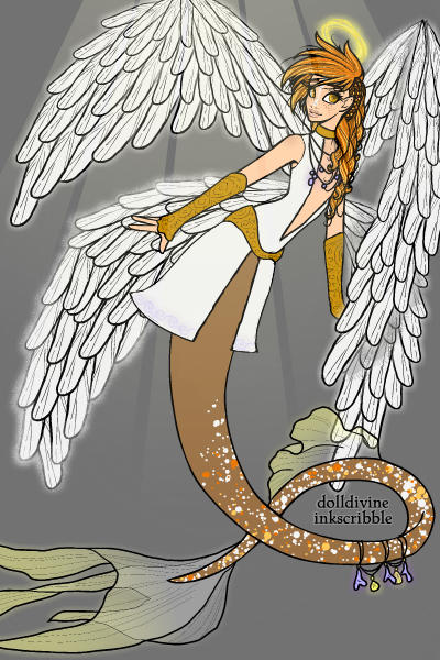 Safeguard ONE (TFA Jetfire) ~ A human, genderswapped angel mermaid ver
