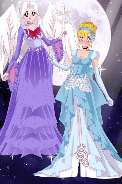 Cinderella and her Godmother ~ My entry for @danceparty213 contest - Di