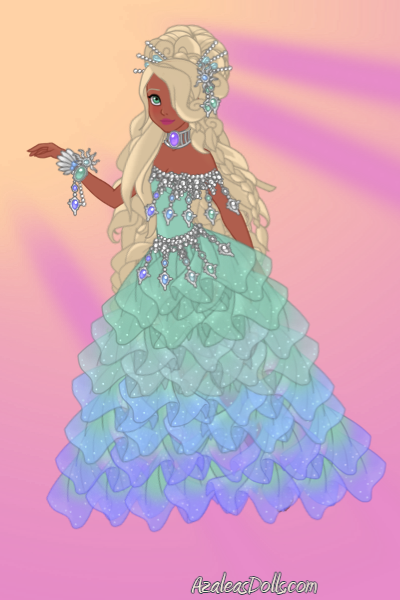 Ballgown (THIS PIC WILL LOAD) ~ Made this awhile ago. I might make her o