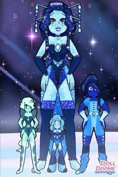 Blue Diamond ~ I know that there is already a blue diam