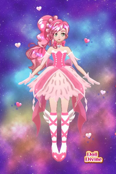 Magic Girl Heather ~ #pink #magic #girl #love #hearts