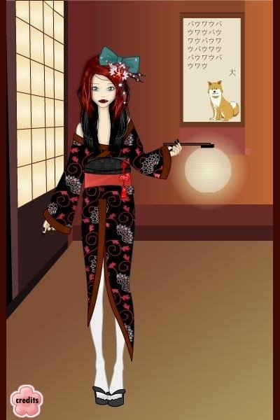 Emiko Kim on the Yukata Game. ~ I really love this game. cx