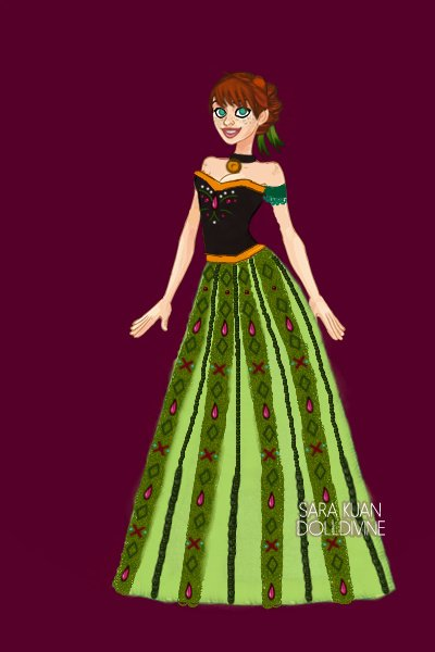 Anna of Arendelle ~ by Pipsqueak #Disney #Anna #Frozen