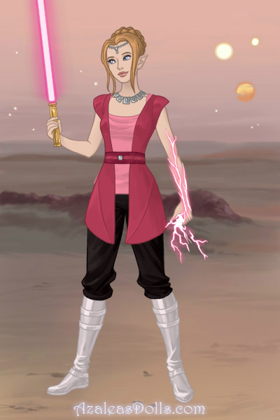 I AM A JEDI ~ This is Azalea's new game. It's pretty a