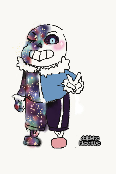 Sans! ~ So this is my art for Sans! I'm proud of