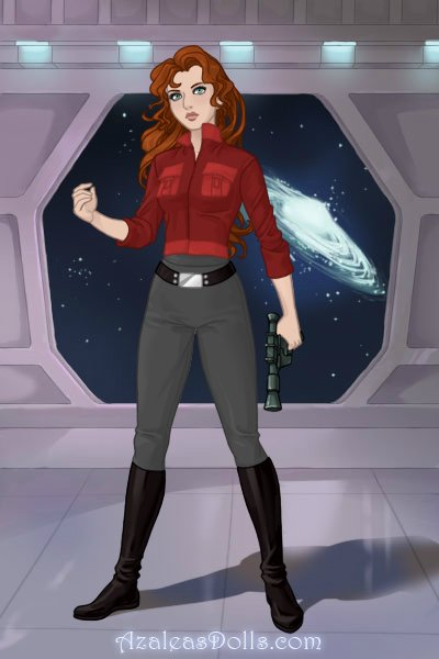 Bria Tharen ~ Leader of the elite Red Hand squadron. #