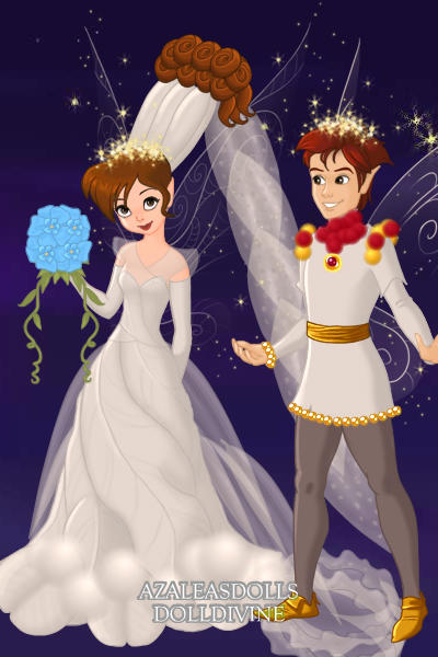 Thumbelina And Cornelius Wedding By Pigobest