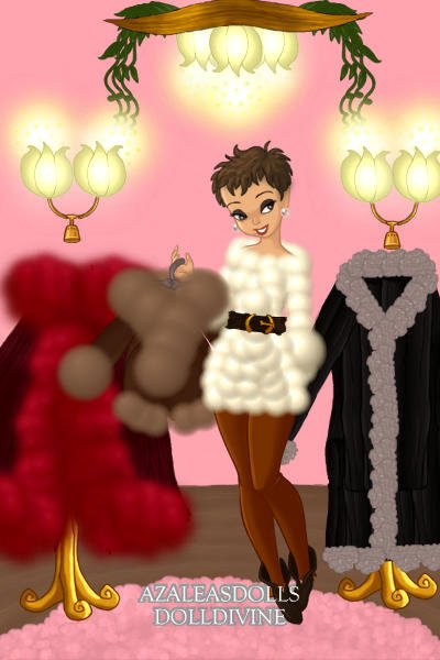 \Welcome to my atelier of faux furs!\ ~