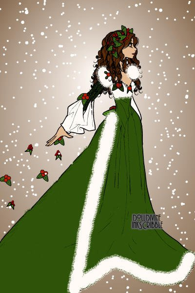 The Ghost of Christmas Presents! ~ #Christmas #Carol #Dickens #Green #Ghost