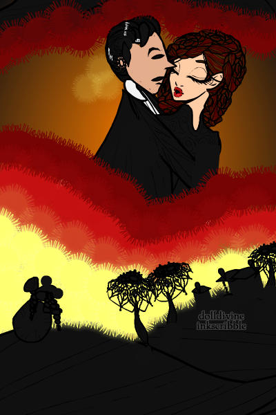 \Gone with the wind\ poster! ~ Inspired by the original poster that you