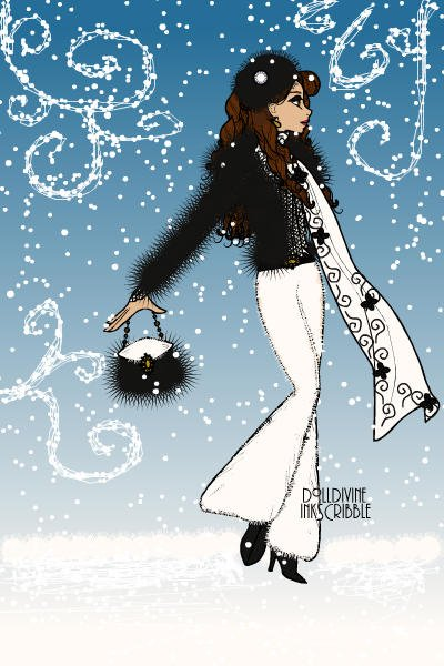 Be glam also in a snow storm! ~