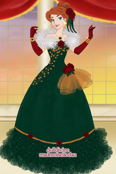 Anna Christmas gown! ~