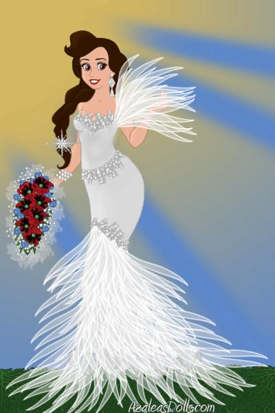 Birdie Bride! ~ #Bride #Wedding #Feathers #Fashion