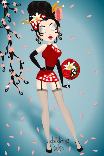 Sexy Geisha  By Pigobest-9089
