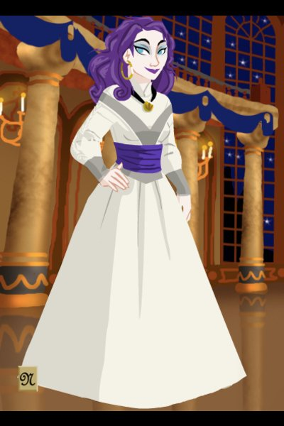Human Rarity ~ So, I did Rarity, too, and I think she l