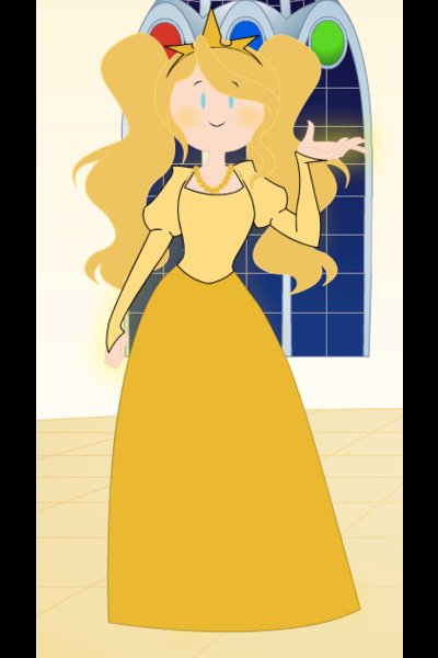 Nora the Yellow Princess ~ Nora grew up in the basement of her fami