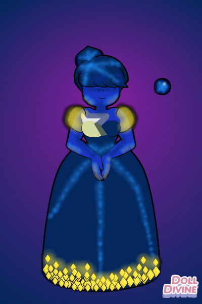 Star Sapphire ~ I finally made a Gemsona! xD This is <a