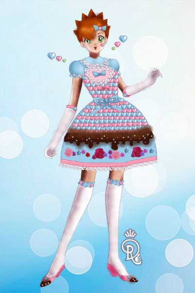 Sugary Sweet Lolita ~ See what I did there? xD Anyway, it's Ha