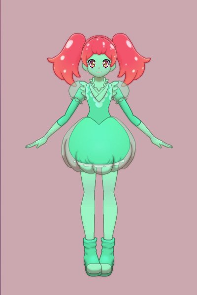 Slime Magical Girl ~ by Dollie