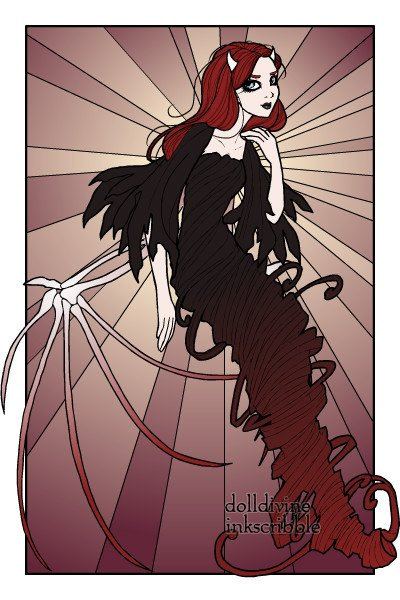 Lady Chaos ~ This is Lady Chaos, she's a fallen angel
