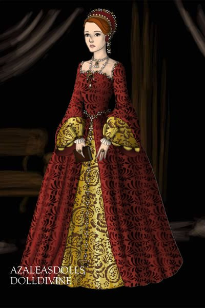 Young Queen Elizabeth 1 by KittyLuver ~ Folk and Historical Dress Up Young Queen Elizabeth 1 Dress