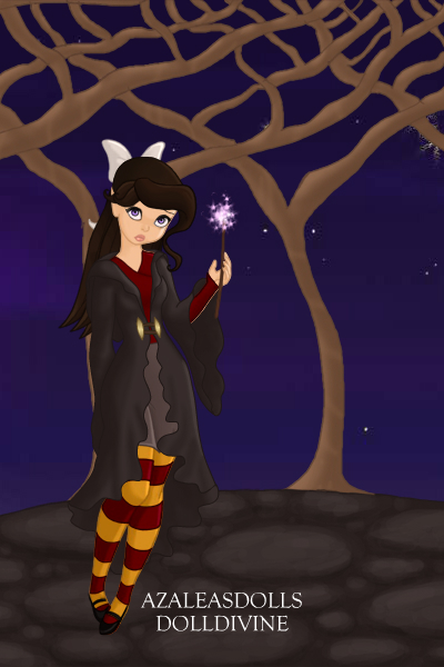 Rain at Hogwarts ~ She is a Gryffindor incase you couldn't