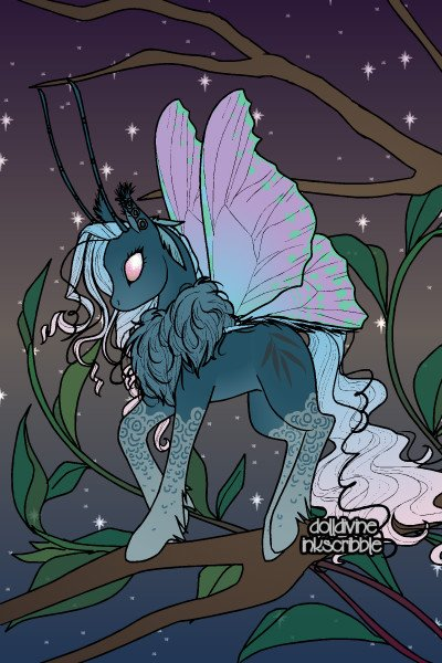 Teal Bug Pony ~