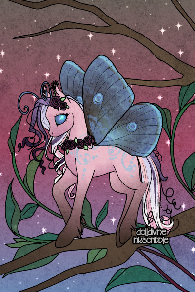 Candy Bug Pony ~ This is the final doll I will be posting