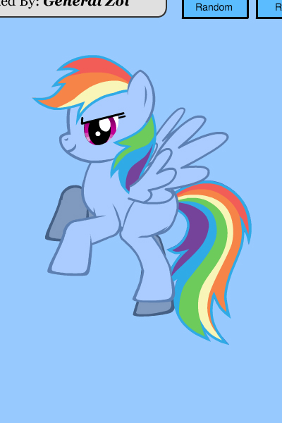 Rainbow Dash ~ I tried my best to giver her a cutie mar