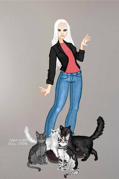 So What I Adopted Four Cats? ~ Female Tristan because I wanted to use t