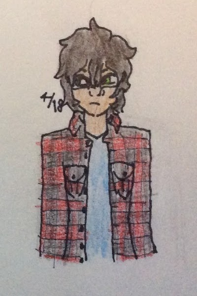 Zach Susskind ~ I'm proud of this lil' doodle of my gay